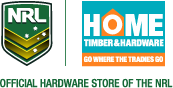 Official hardware store of the NRL